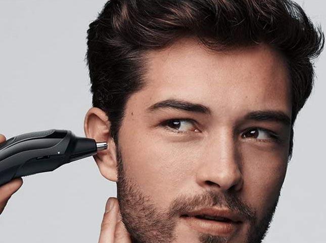 Tondeuse cheveux barbe nez oreilles